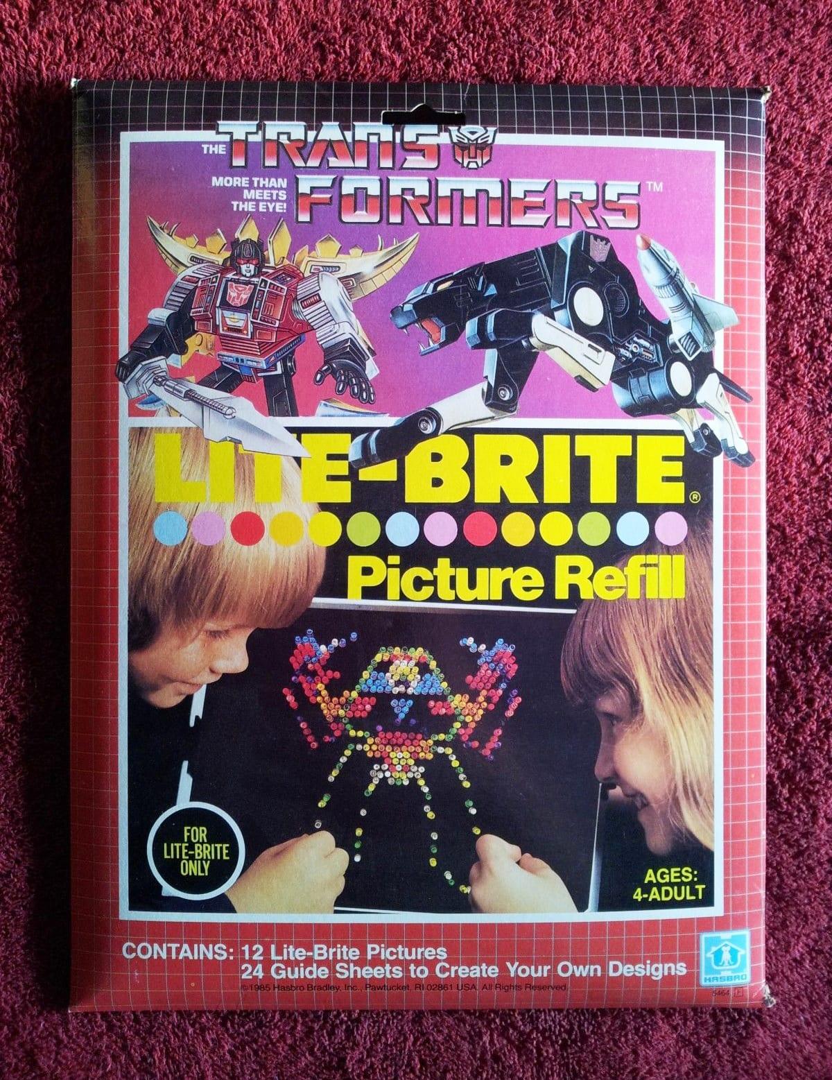 Transformers Lite-Brite
