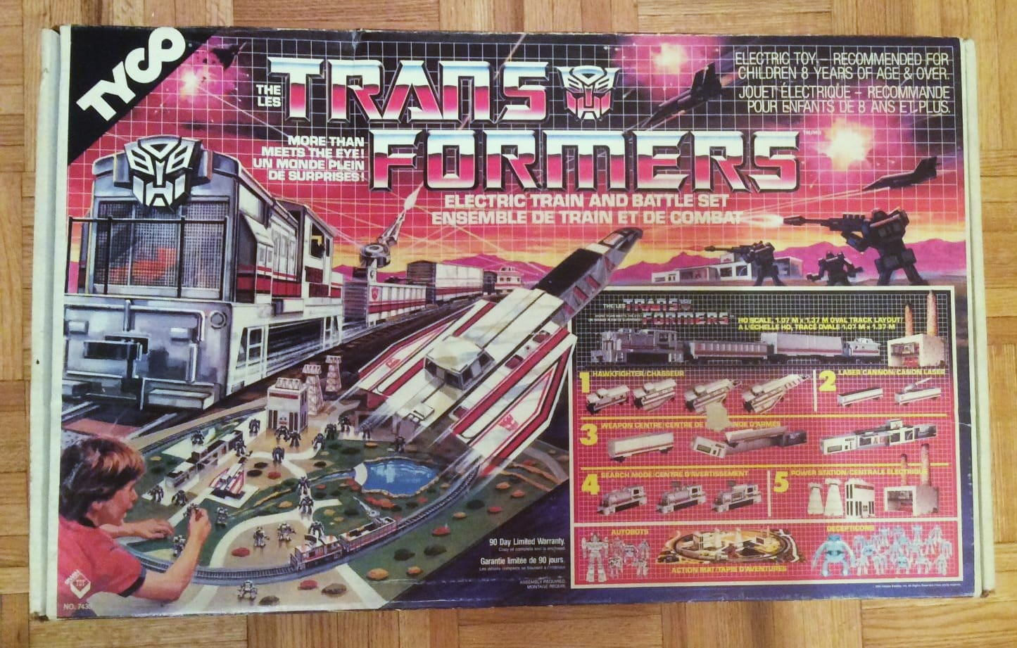 Transformers Electric Train
