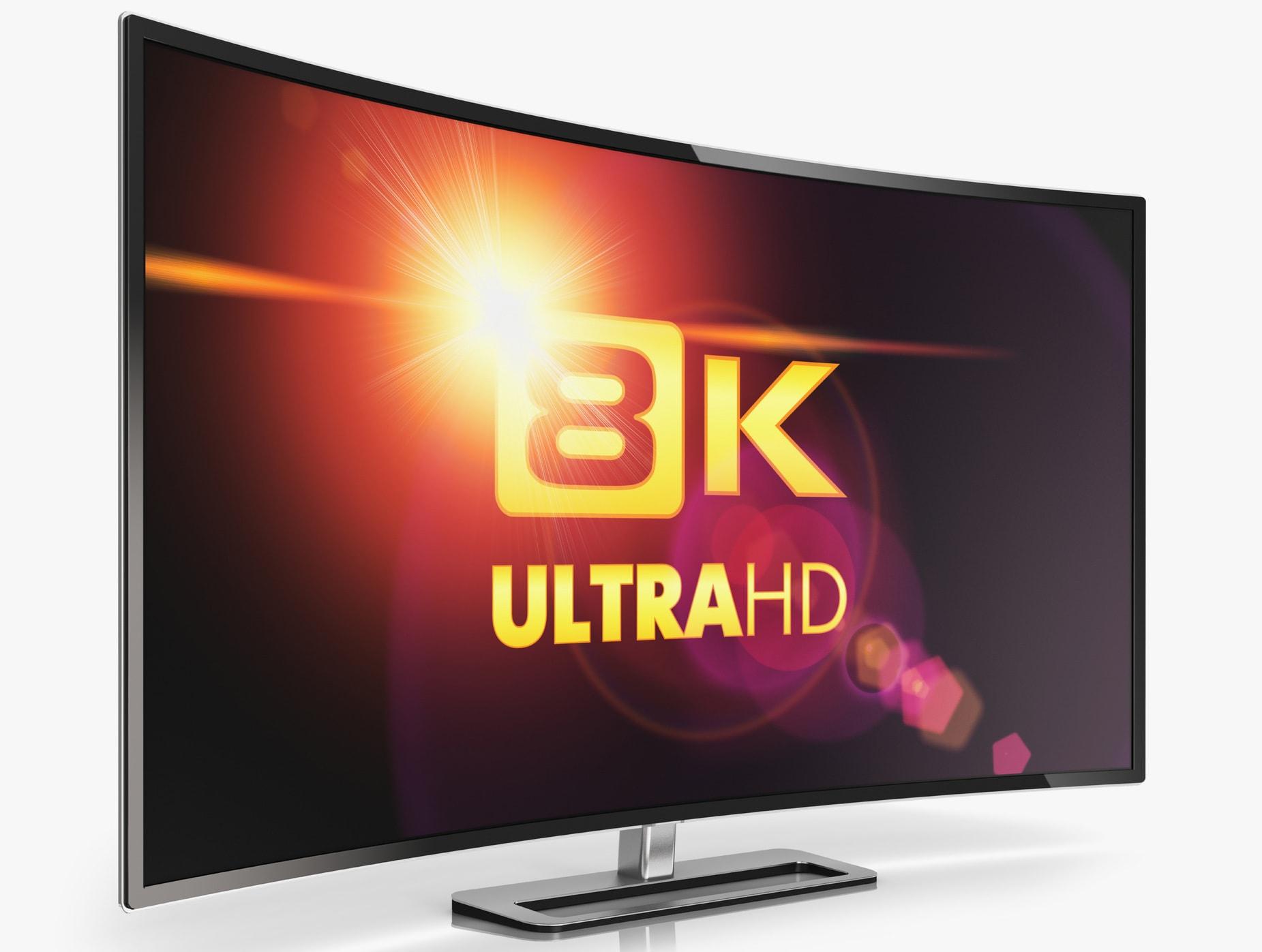 8K TV price