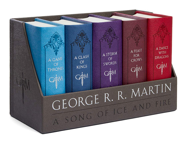 GoT boxed book set