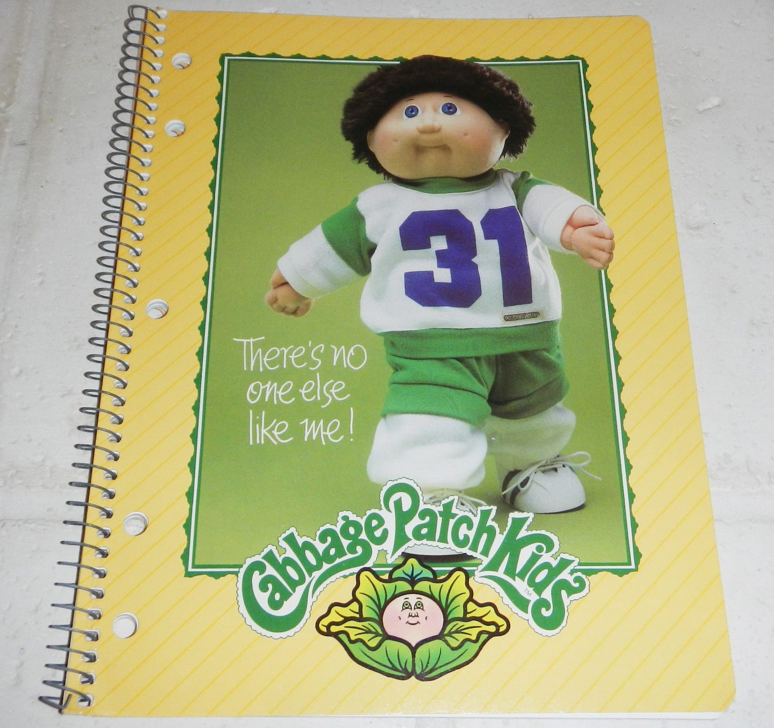 CABBAGE PATCH NOTEBOOK