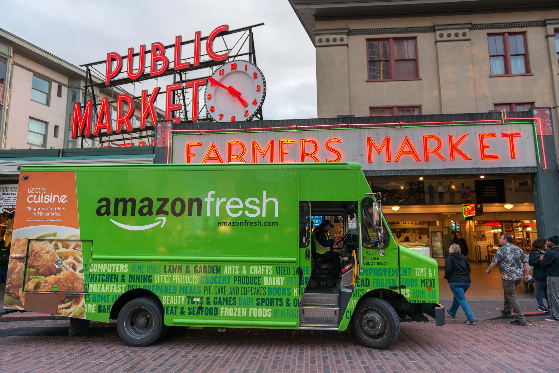 AmazonFresh truck