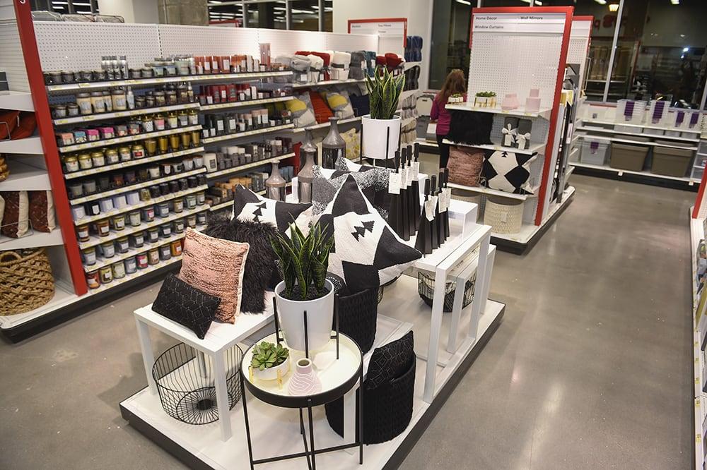Target store interior