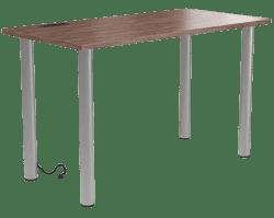 Union & Scale UN56970 Essentials 48 Inch Powered Writing Desk (Espresso)