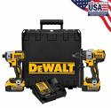 DeWalt 20V Hammerdrill & Impact Driver Kit for $267 + free shipping
