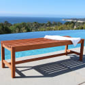Vifah 5ft Outdoor Baltic Wood Bench for $80 + free shipping
