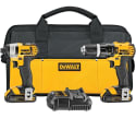 DeWalt 20V Cordless Drill & Driver Combo Kit for $170 + free shipping