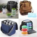 Fit & Fresh Men's Insulated Lunch Bag Kits: Extra 25% off + free shipping w/ $35