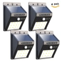 4 Iextreme 12-LED Motion Sensor Solar Lights for $19 + free shipping