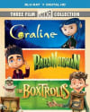 3-Film Laika Collection on Blu-ray/Digital HD for $12 + free shipping w/ Prime