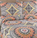 Royale Home Agra King Duvet Cover Set for $14 + free shipping w/ Prime
