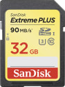 SanDisk 32GB Extreme Plus UHS-I SDHC Card for $14 + free shipping