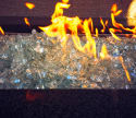 "Element Aquamarine 1/2"" Large Fire Pit Glass for $14 + pickup at Walmart"