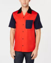 Calvin Klein Men's Colorblocked Shirt for $29 + pickup at Macy's