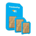 FreedomPop 4G LTE 3-in-1 SIM Kit w/ 4GB Data for $1 + free shipping