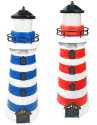 2 iGlow Solar LED Lighthouse Path Lights for $45 + free shipping