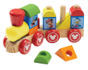 Melissa & Doug Mickey Mouse Wooden Train for $10 + free shipping w/ Prime