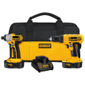 DeWalt 18V Drill / Impact Driver Combo for $99 + free shipping