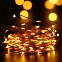 Qedertek Solar 33-Foot Solar String Lights for $10 + free shipping