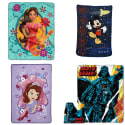 """Disney Character Blankets at Toys""""R""""Us: 40% off + free shipping w/ $29"""