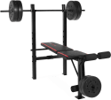 CAP Strength Standard Bench, 100-lb. Weights for $75 + free shipping