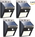 4 Iextreme 12-LED Motion Sensor Solar Lights for $21 + free shipping