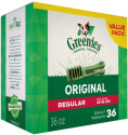Greenies Dental Chews 36-Count Pack for $17 + free shipping
