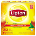 Lipton Black Tea Bags 312-Pack for $7 w/ $25 purchase + free shipping