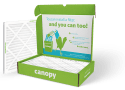 Canopy Air Filters coupon First filter for $5 + free shipping