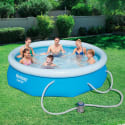 "Bestway 10-Foot x 30"" Inflatable Pool Kit for $40 + pickup at Kmart"