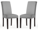 DHI Nail Head Upholstered Dining Chair 2-Pack for $75 + free shipping