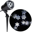 Lightshow Projection Ornate Snowflurry White for $9 + pickup at Walmart