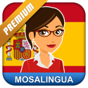 Learn Spanish with MosaLingua for Android for free