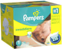 432 Pampers Size 1 Diapers w/ $20 Walmart GC for $80 + free shipping