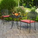 Mainstays Wrought Iron 3pc Outdoor Bistro Set for $94 + free shipping