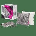 "M Cushion 18"" Massage Pillow w/ Decor Pillow for $44 + $5 s&h"