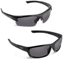 Name Brand Polarized Sport Sunglasses 2-Pack for $12 + free shipping