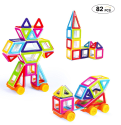 Mini Magnetic Building Blocks 82-Piece Set for $19 + free shipping