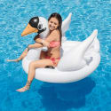 Intex Inflatable Swan Ride On Pool Float for $12 + pickup at Walmart