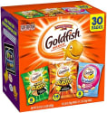 Goldfish Crackers 30-Count Variety Pack for $8 + free shipping