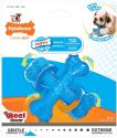 Nylabone Puppy Chew X Bone Beef Chew Toy for $5 + free shipping w/ Prime