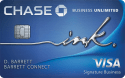 Chase Ink Business Unlimited℠ Credit Card $500 Bonus Cash Back