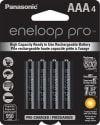 Panasonic eneloop Pro AAA Battery 4-Pack for $11 + free shipping w/ Prime