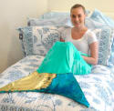 Plush Sequin Mermaid Tail Throw for $10 + pickup at Walmart