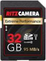 Ritz 32GB Class 10 UHS-1 U3 SDHC Memory Card for $13 + free shipping