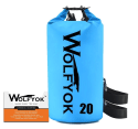Wolfyok 20L Roll Top Duffle Dry Bag for $13 + free shipping