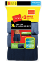 Hanes Men's Boxer Briefs 8-Pack for $13 + pickup at Walmart
