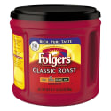 Folgers Ground Coffee 31-oz. Canister for $5 + free shipping