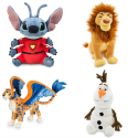 Disney Plush Toys: Buy 1, get 2nd for $2 + free shipping w/ $50