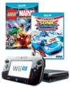 Refurb Wii U 32GB Console w/ 2 Used Games for $140 + $9 s&h